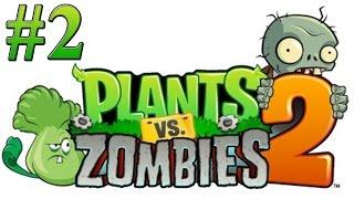Растения против зомби 2 Прохождение Египет 2,3,4,5,6