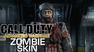 Unlock the Zombie Skin - Call of Duty: Advanced Warfare
