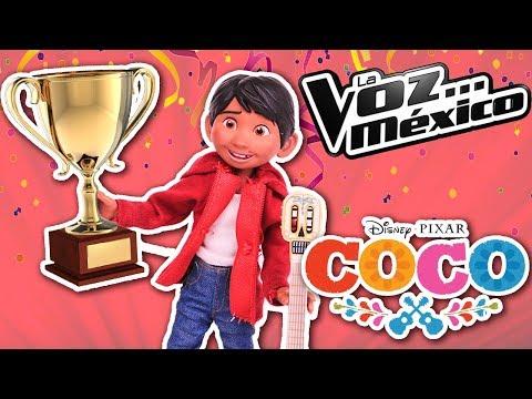COCO Miguel asiste al Casting de LA VOZ MEXICO para ser un GRAN CANTANTE - Juguetes Fantasticos