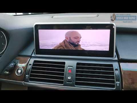 2008 BMW X5 Android Multimedya Navigasyon Sistem Montajımız - Emr Garage Ankara