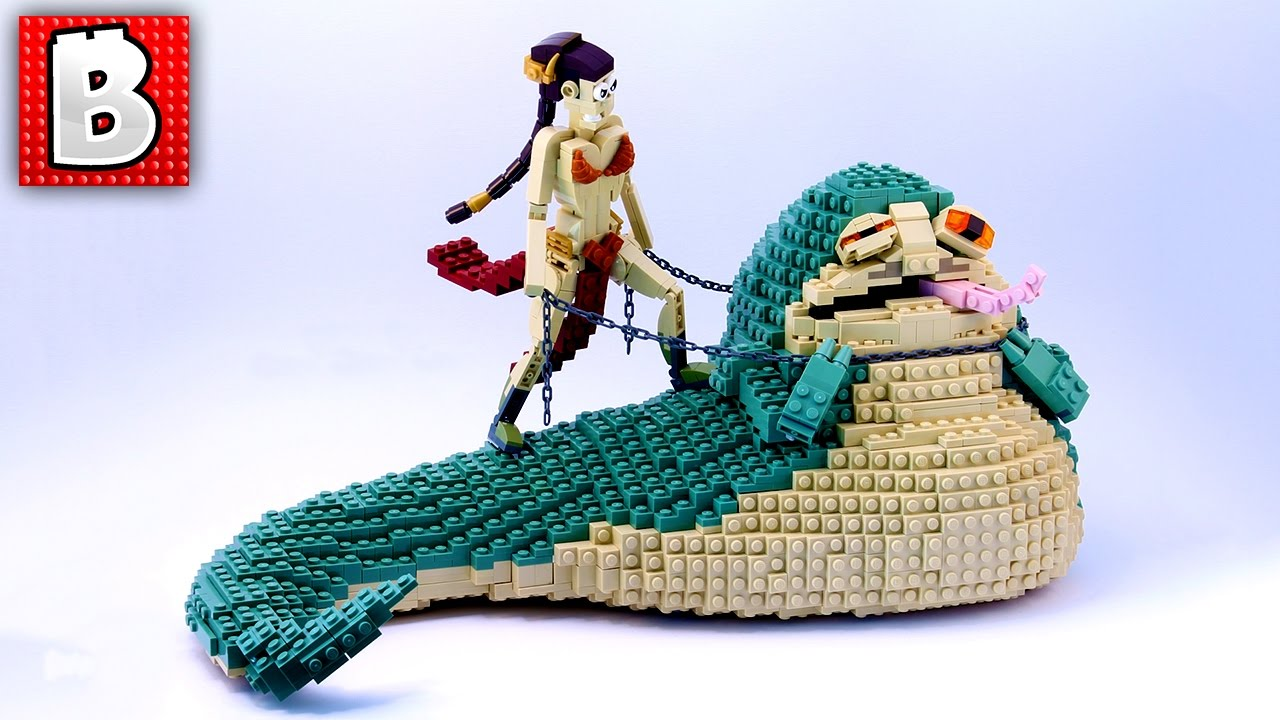 LEGO Jabba the Hutt and Slave Leia | Top 10 MOCs! Weekly ...