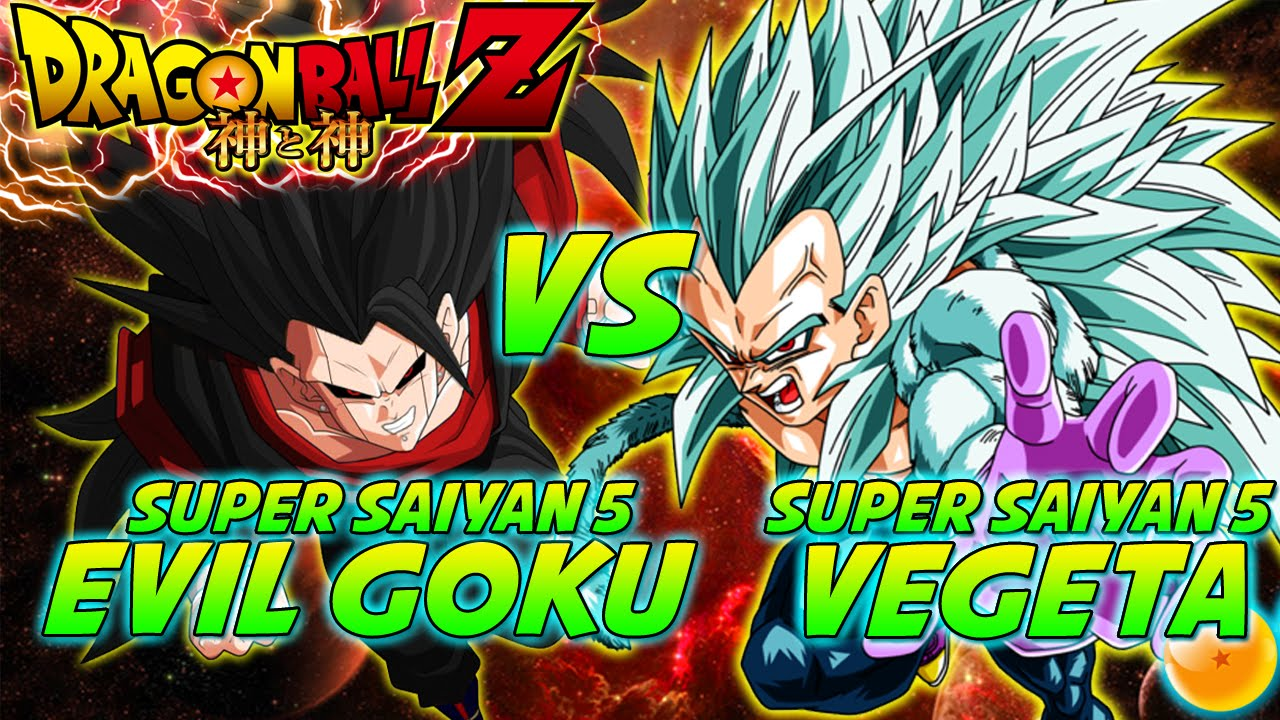 Dragonball z what if battle evil super saiyan 5 goku vs - Goku vs vegeta super saiyan 5 ...