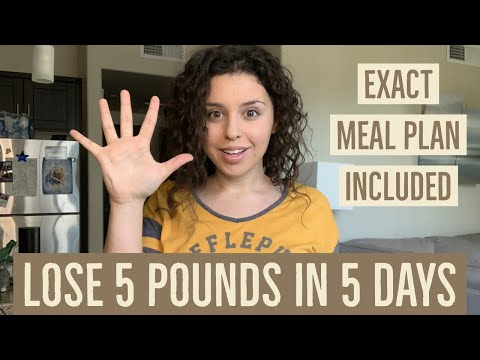 1200 CALORIE MEAL PLAN! LOST 5 POUNDS IN 5 DAYS! meal plan included!