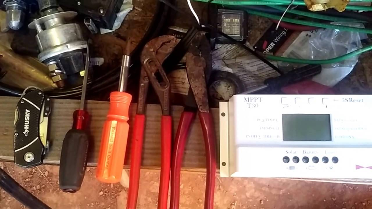 Mppt Charge Controller Installation Youtube 12v Solar Wiring Diagram