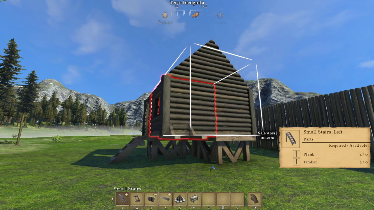 How To Build Wooden Stairs, Small Stairs, U0026 Wall Walk