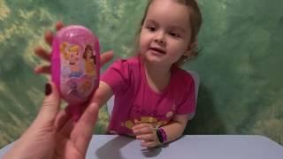 Принцессы Диснея игрушка сюрприз Disney  мультфильм Золушка