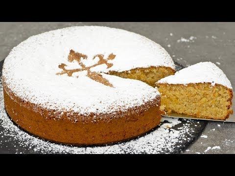 Spanish Almond Cake | Tarta De Santiago
