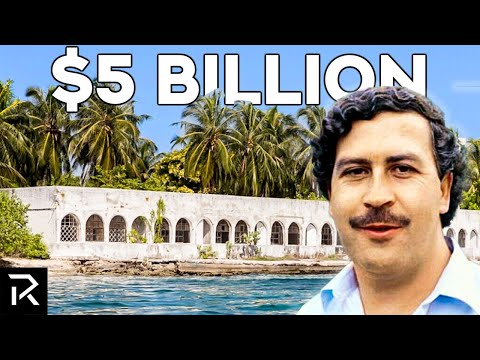 Inside Pablo Escobar's Abandoned Secret Island Mansion