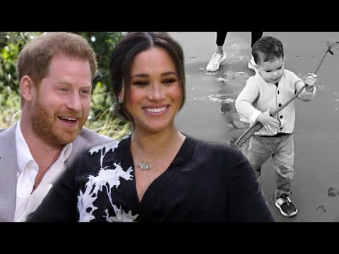 Prince Harry and Meghan Share RARE Home Movie of Son Archie