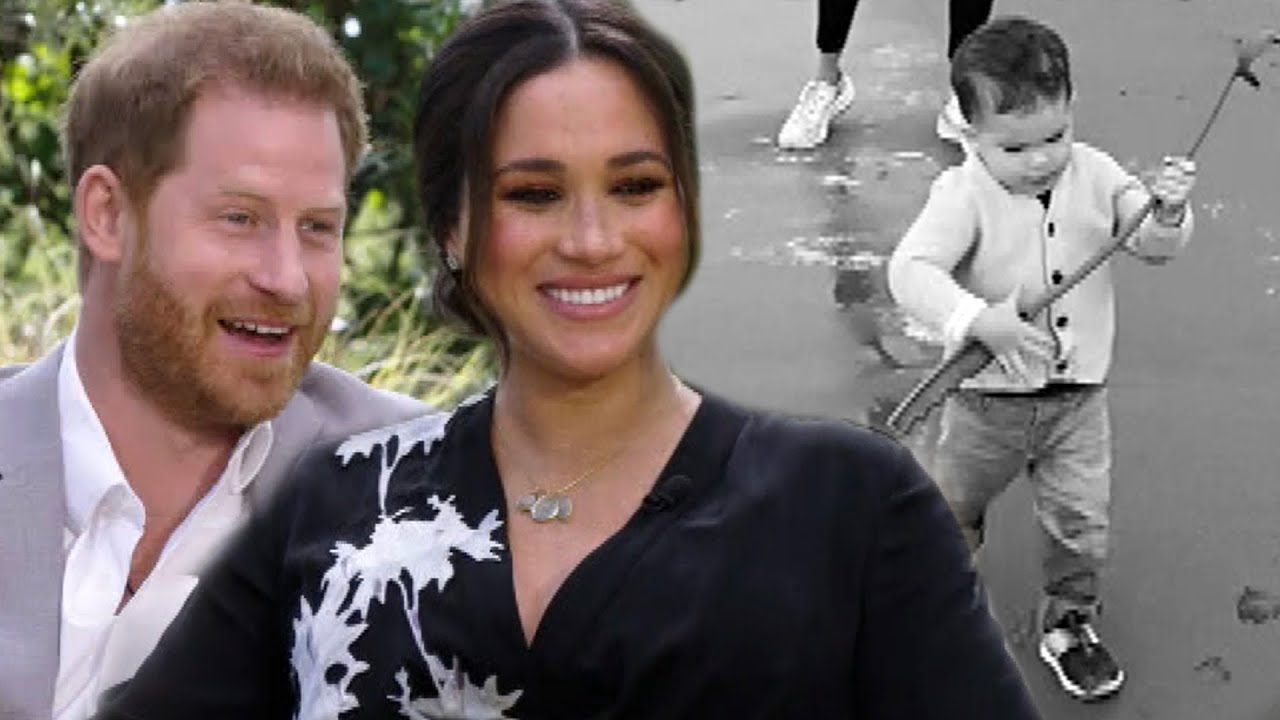 Download Prince Harry and Meghan Share RARE Home Movie of Son Archie