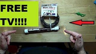 Magic Stick TV Antenna | Does it Work???