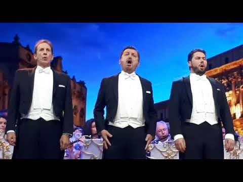 André Rieu & The Platin Tenors - Nessun Dorma (from Turandot) Live in Neu-Ulm, Germany