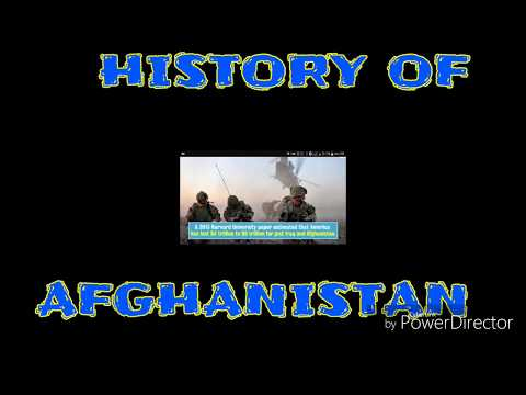 History Of Afghanistan-Short Documentary