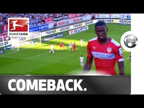 Stuttgart's Rollercoaster Ride - Comeback from 3 Goals Down