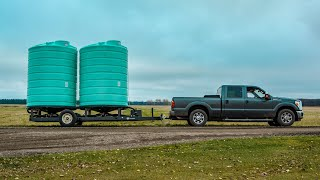 Best Liquid Fertilizer Tank Trailer by Enduraplas [Move-able Storage]