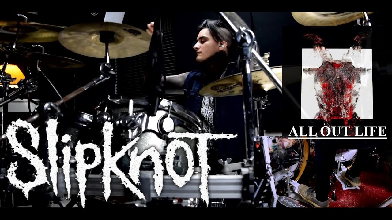 "Slipknot ""All Out Life"" PERFECT Drum Cover???"