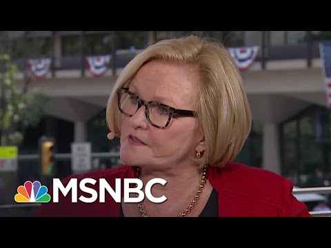 Claire McCaskill On 'Unbelievable' Donald Trump Remarks On Russia | MSNBC