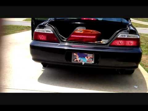 Acura Tl Led Tail Light Wmv