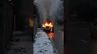 Пожежа у Калуші. Відео зі сторінки у Фейсбуці