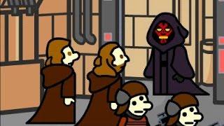 Star Dudes: Episode I - The Phantom Dude (Star Wars)
