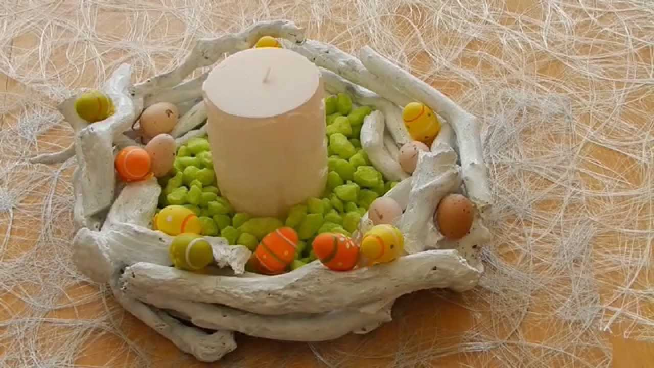 Diy Deko Für Ostern Basteln Mit ästen Easy Easter Decoration Youtube