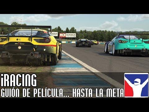 iRacing || Guión de película... hasta la línea de meta (Ferrari Fixed @ Donington)
