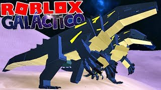 Dinosaur Simulator (Roblox)-Galactic family, Barosaurus vs. Irriator, Battle! -(#46) (EN-BR)