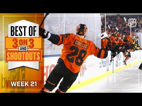 Best 3-on-3 OT and Shootout Moments from Week 21
