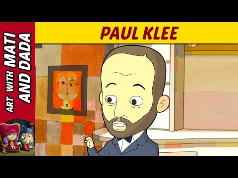 Art with Mati and Dada –  Paul Klee   Kids Animated Short Stories in English