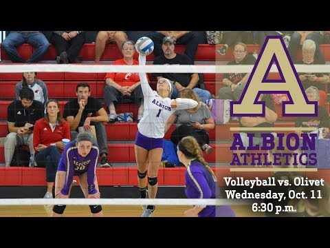 MIAA Volleyball - Olivet College vs. Albion College - Oct. 11, 2017