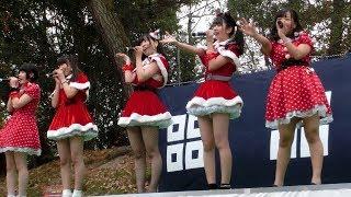 香川発アイドル きみともキャンディ 2017/12/23/ 丸亀市 丸亀城大手門広...