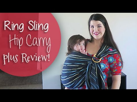 hip-carry-in-a-ring-sling-|-review-of-mamaway-ring-sling