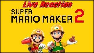 Super Mario Maker 2 LIVE REACTION!
