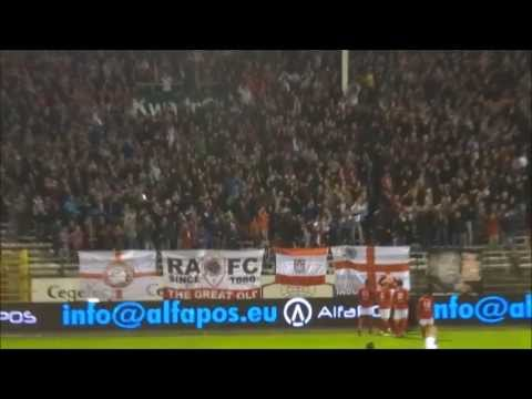 2013-10-12 Royal Antwerp FC - RWDM [HD] - Tribune 1