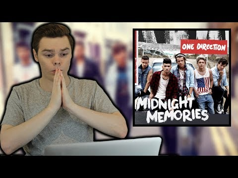 NEVER Listened To MIDNIGHT MEMORIES - One Direction Album Reaction