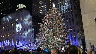 Behind the Scenes at the Rockefeller Center Christmas Tree Lighting