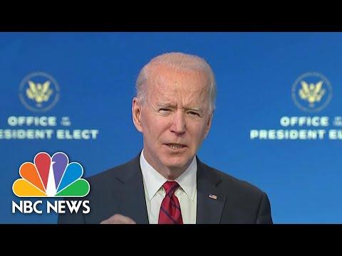 Biden Unveils Covid Vaccination Plan | NBC Nightly News