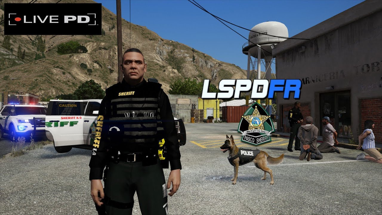 Pasco County Sheriff- LSPDFR K9 Partner - Episode 31