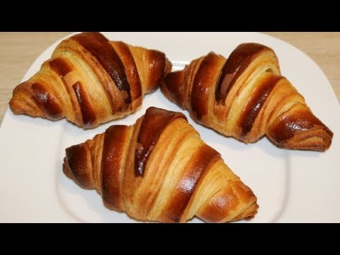 Recette Des Croissants Facile Cuisine Rapide Youtube