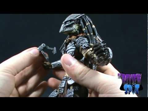 Toy Spot Neca Aliens Vs Predator Requiem Predator Figure Youtube