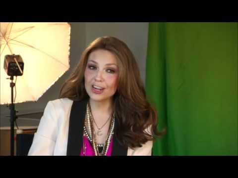 "Thalia- Interview ""A Michael Buble Christmas"""