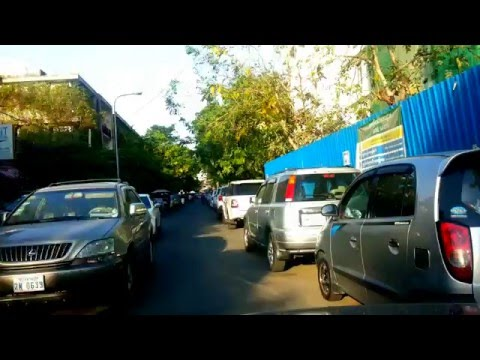 Asian Travel - Once Empty Street Behind The Ministry of Economy And Finance - Youtube