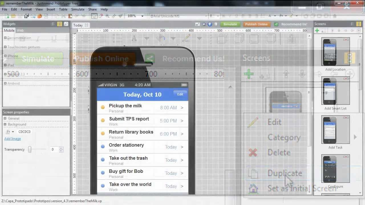 The Best 100% Free Wireframe Tool for Mobile and Web Apps - YouTube