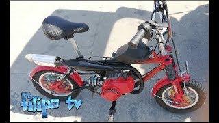 homemade mini bike 49cc