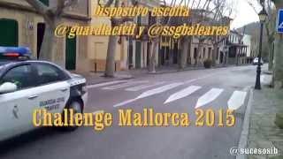 Dispositivo Guardia Civil XXIV Challenge Mallorca 2015