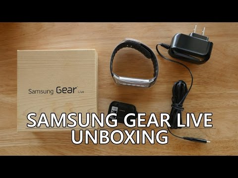 Samsung Gear Live Unboxing and First Impressions