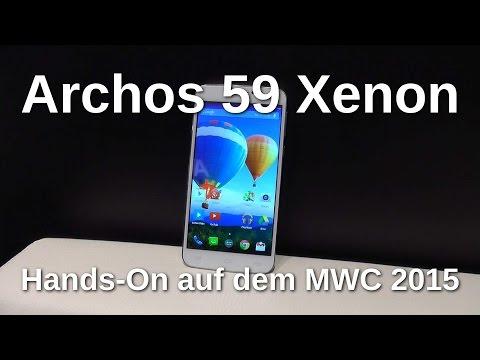 Archos 59 Xenon: Hands On mit dem 150,- EUR Phablet