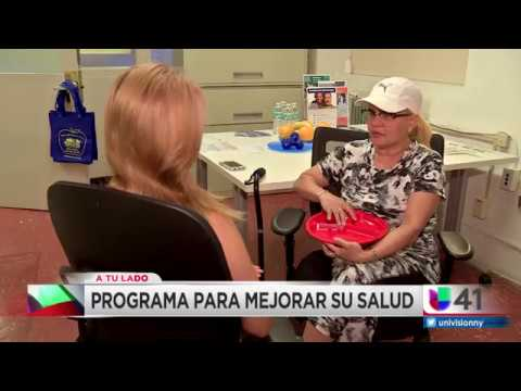 Univision: Harlem residents receive medical advice and improve their health
