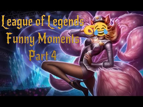 League of Legends Funny Moments Part 4 (Happy Birthday Sean)