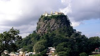 Burma / Myanmar - Mount Popa (hd-video)